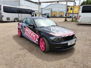 BMW 1-Series M Coupe — оклейка авто «Жвук» акустика для авто