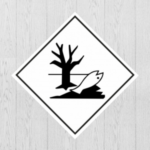 Наклейка Опасный груз Вещества опасные для окружающей среды