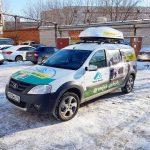 Лада Ларгус — оклейка авто «Техно Ремонт» строительство домов